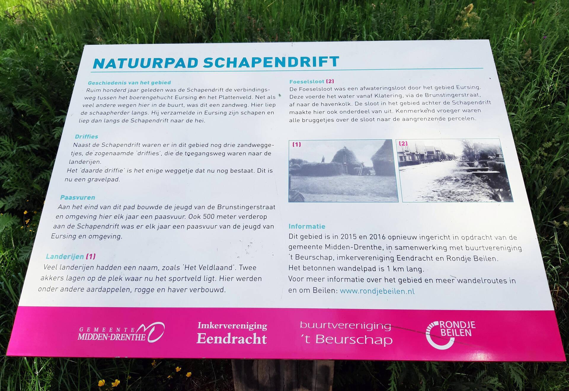 Rondje natuurpad Schapendrift