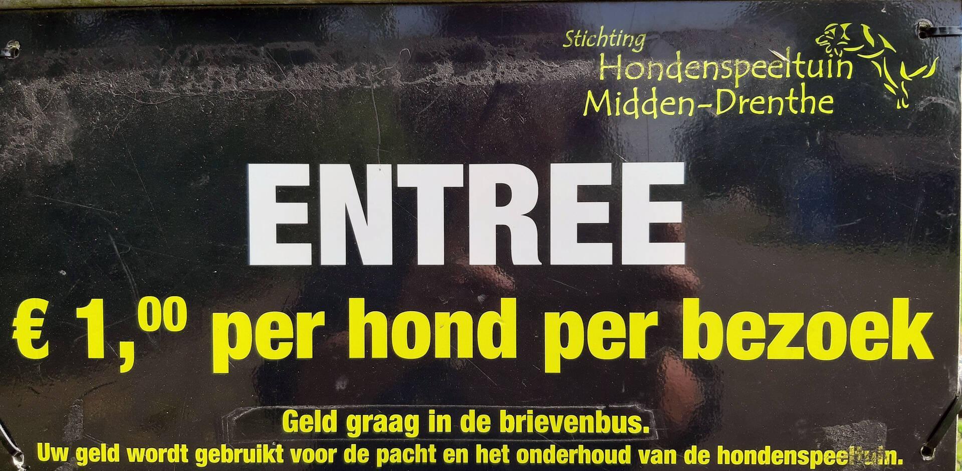 Hondenspeeltuin Midden-Drenthe