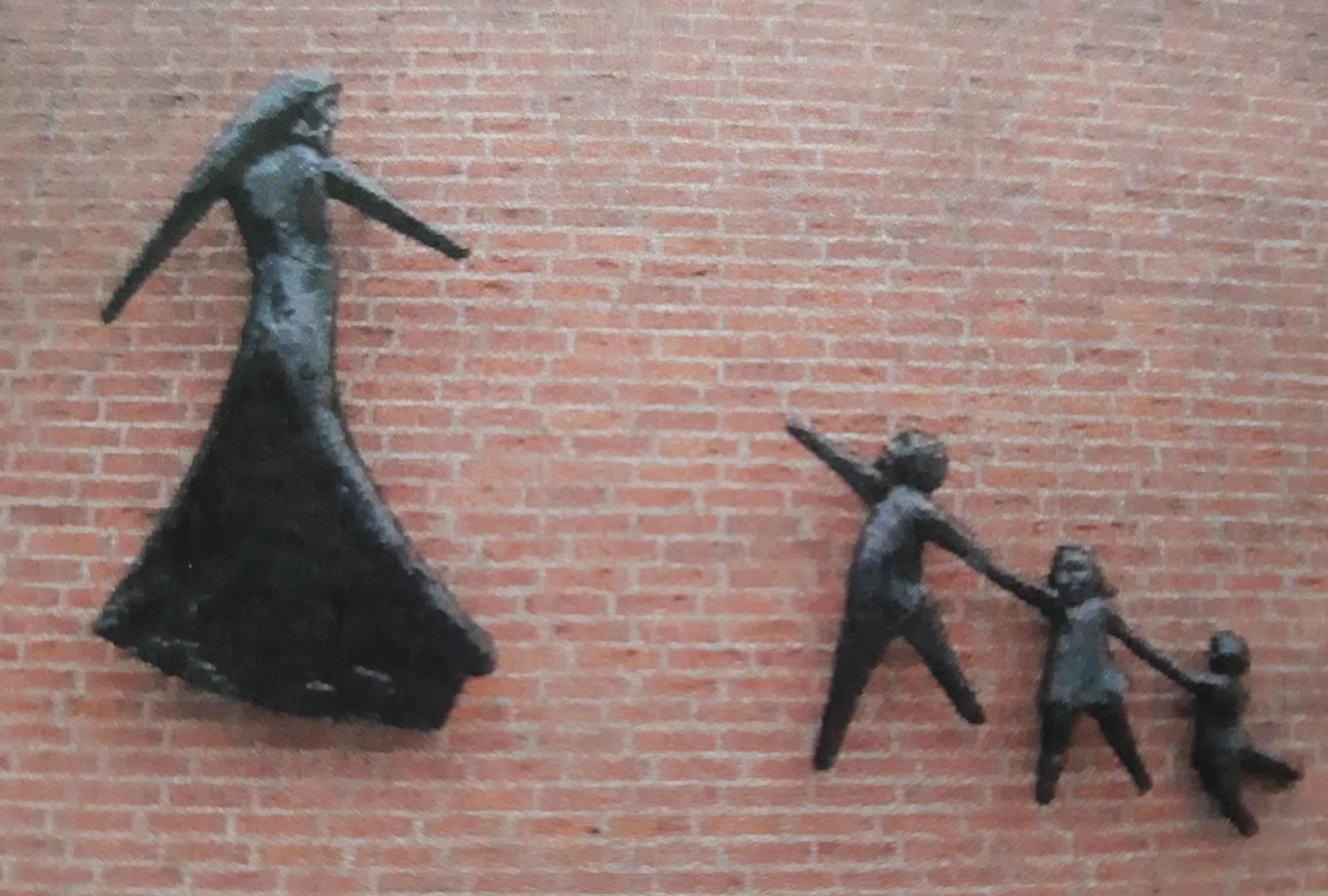Wandplastiek Ina Martens