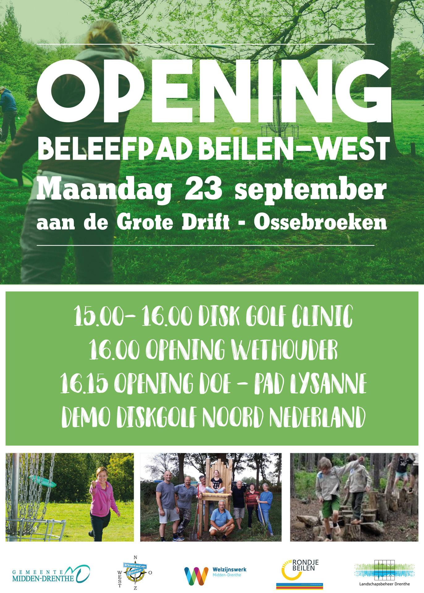 Opening Doe- en Beleefpad op 23 september 2019
