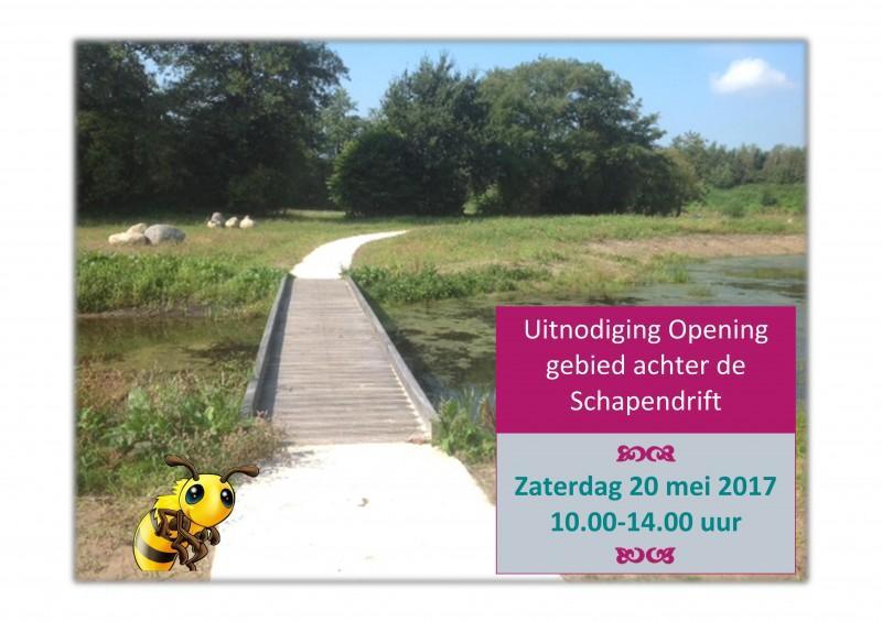 Opening natuurpad Schapendrift