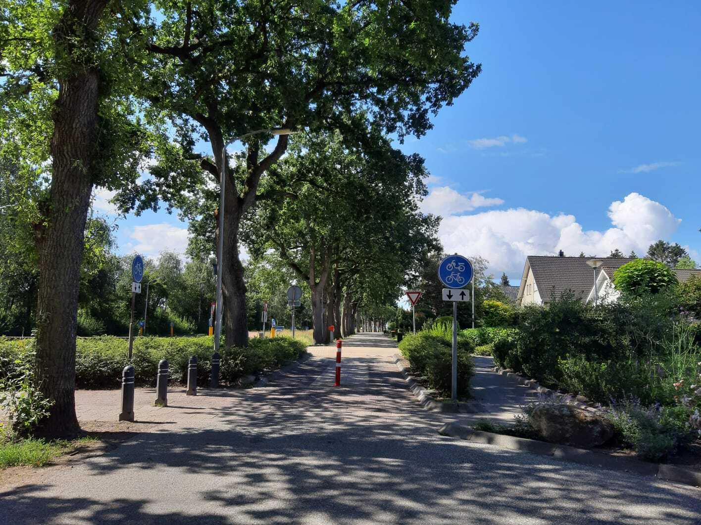 Schakelroute Noordveen - Plattenveld