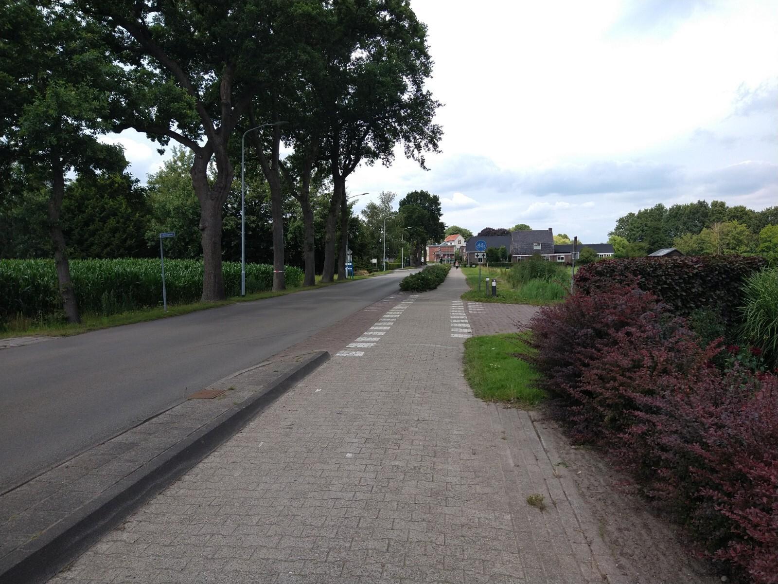 Schakelroute HLM - Stroompad