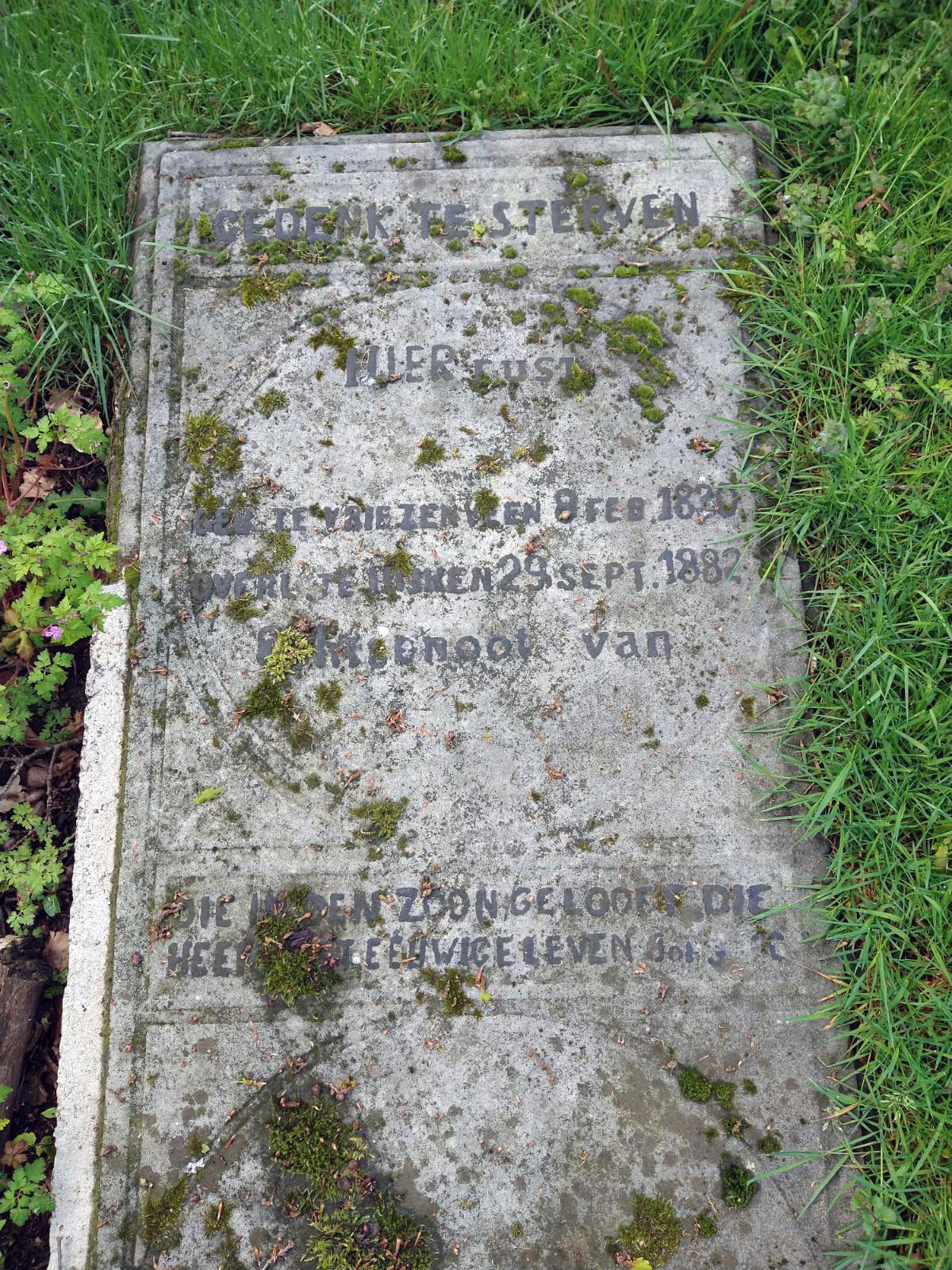 Begraafplaatsroute Torenlaan, deel 2